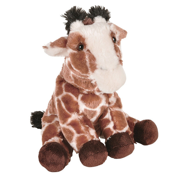 Giraffe Sitting Plush Toy