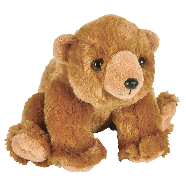 Grizzly Bear Cub Plush Toy