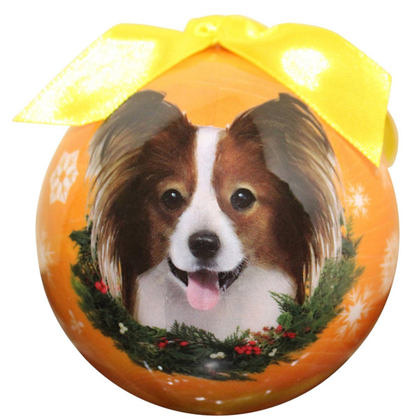Papillon Christmas Ball Ornament