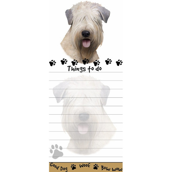 Soft Coated Wheaten Terrier Tall Magnetic Notepad