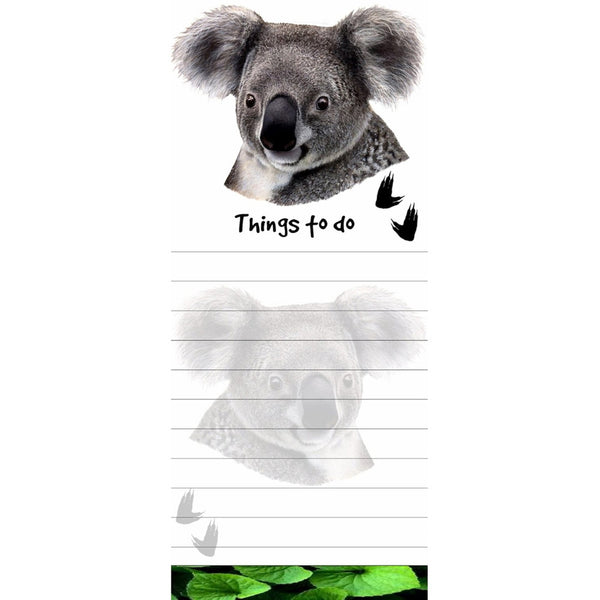 Koala Tall Magnetic Notepad