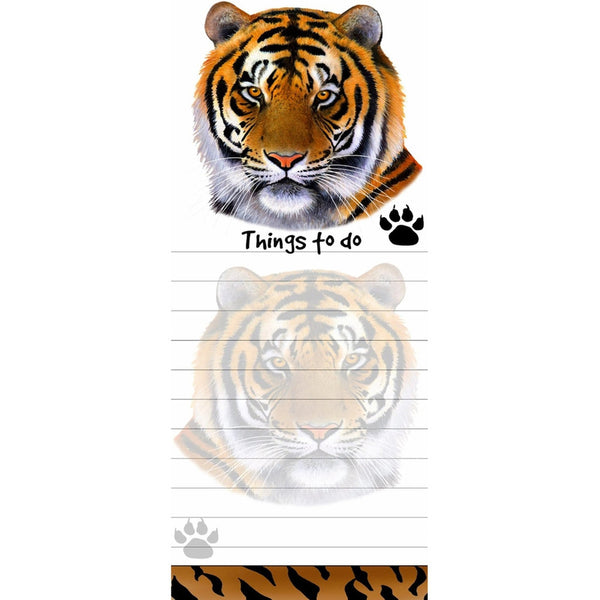 Tiger Tall Magnetic Notepad