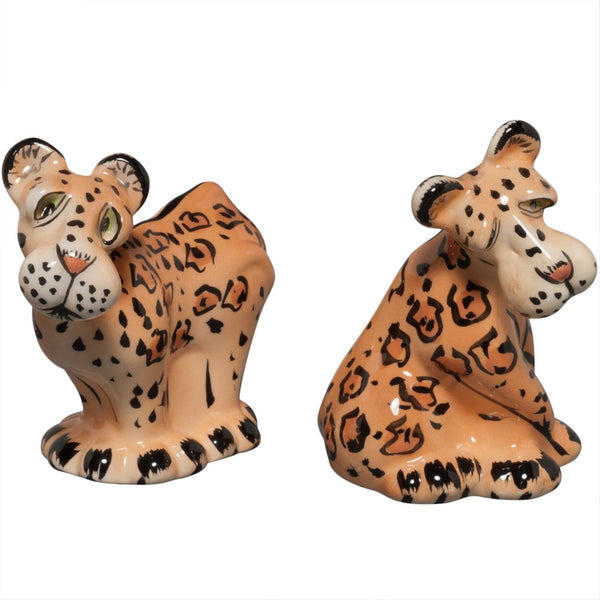 Safari Leopards Salt And Pepper Shakers