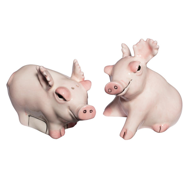 Safari Pigs Salt And Pepper Shakers