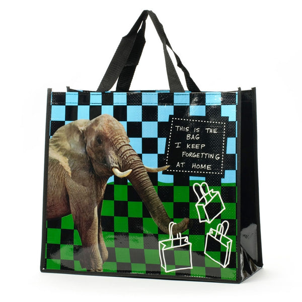 Elephant Forgetting Tote Bag
