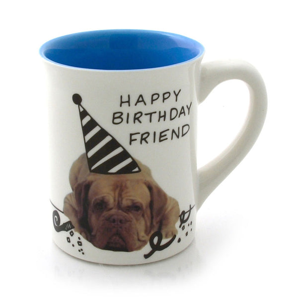 Happy Birthday Pup Work Coffee Mug