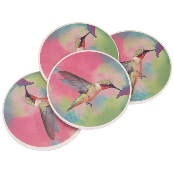 Hummingbird Stone Coaster