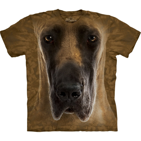 Great Dane Face Kids T-Shirt