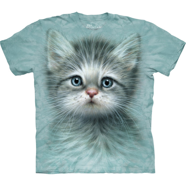 Blue Eyed Kitten Kids T-Shirt