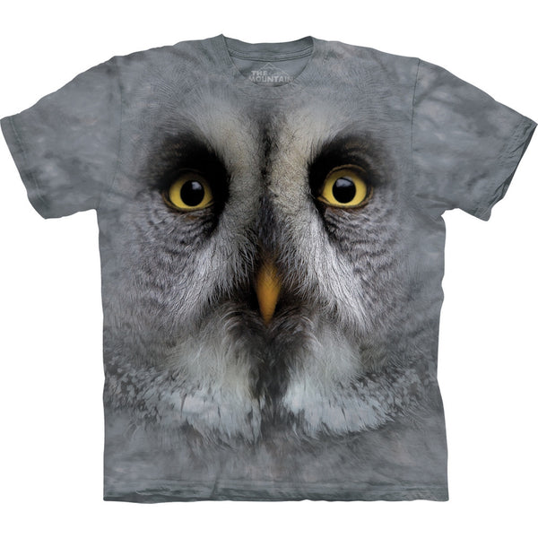 Great Grey Owl Kids T-Shirt