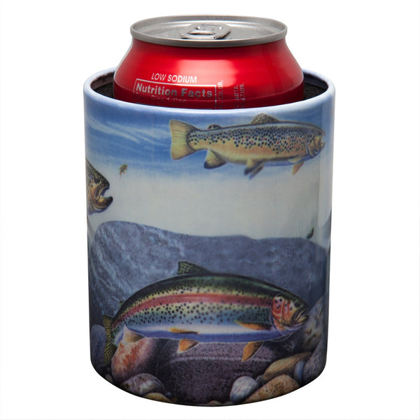 Trout Can Cooler