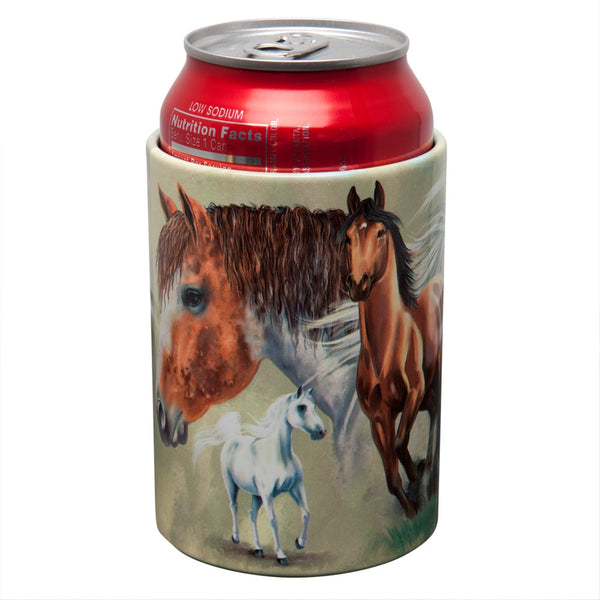 Horse Herd Can Cooler