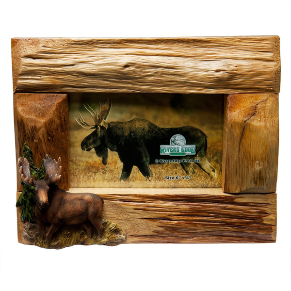 Moose Firwood Picture Frame