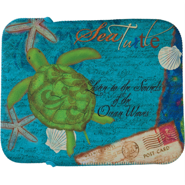 Sea Turtle Fabric Tablet Cover