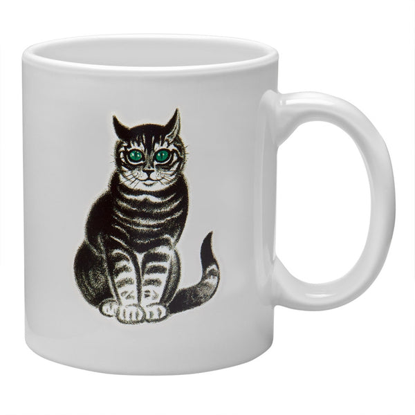 Green Eyed Cat Coffee Mug