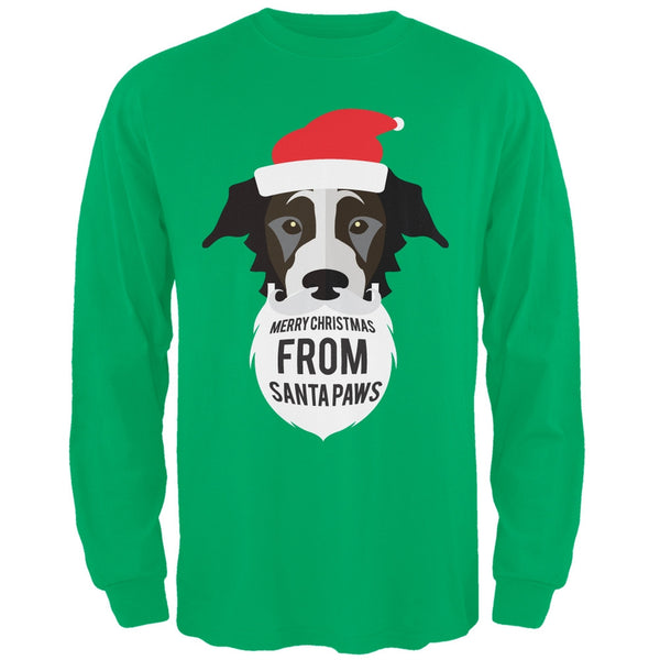 Black Dog Santa Ugly Christmas Sweater Long Sleeve T-Shirt