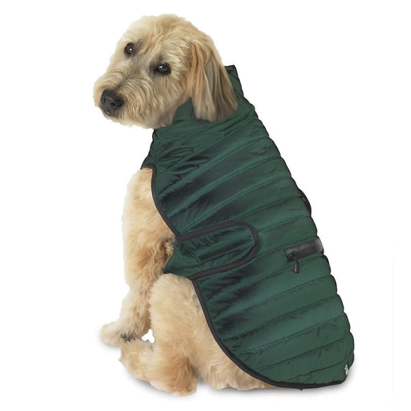 Brunswick Puffer Green Dog Vest