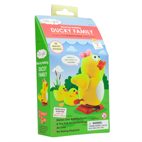 Duck Family Dough Modeling Wind-Up Walking Kit