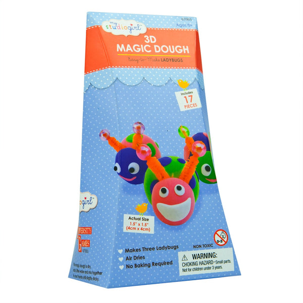 Ladybugs 3D Magic Dough Modeling Kit