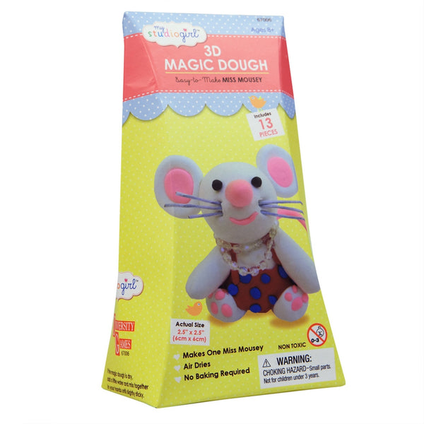 Miss Mousey 3D Magic Dough Modeling Kit