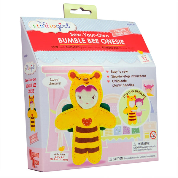 Bumble Bee Onesie Sewing Kit