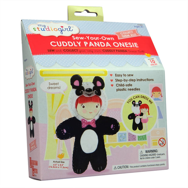 Cuddly Panda Onesie Sewing Kit