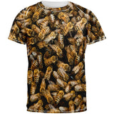 Bees All Over Adult T-Shirt