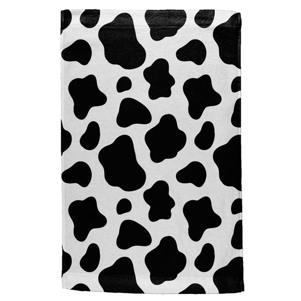 Cow Pattern All Over Sport Towel