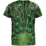 Peacock Feathers Costume All Over Adult T-Shirt