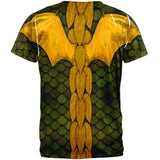 Halloween Green Dragon Costume All Over Adult T-Shirt