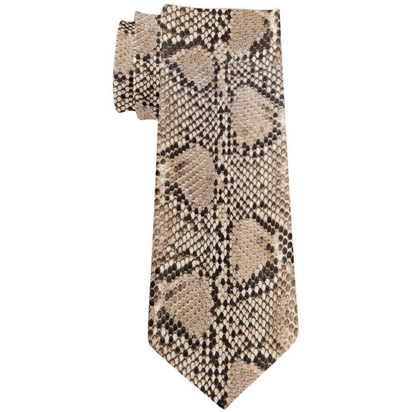 Snake Skin All Over Neck Tie