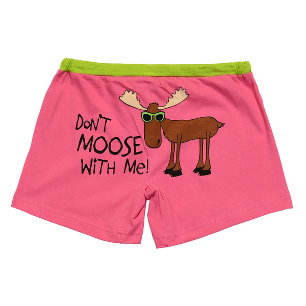 Don't Moose With Me Juniors Pajama Boxers