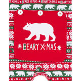 Beary XMAS Ugly Christmas Sweater Adult Union Suit