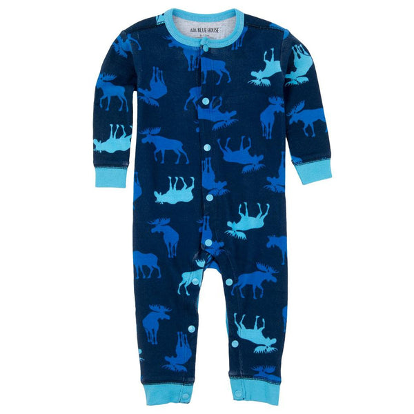 Blue Moose Baby Boy Sleepy Romper