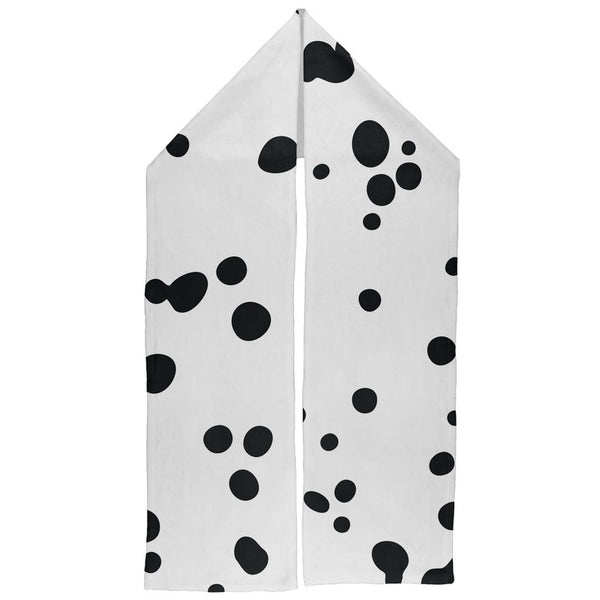 Dalmatian Spots Warm Fleece Scarf