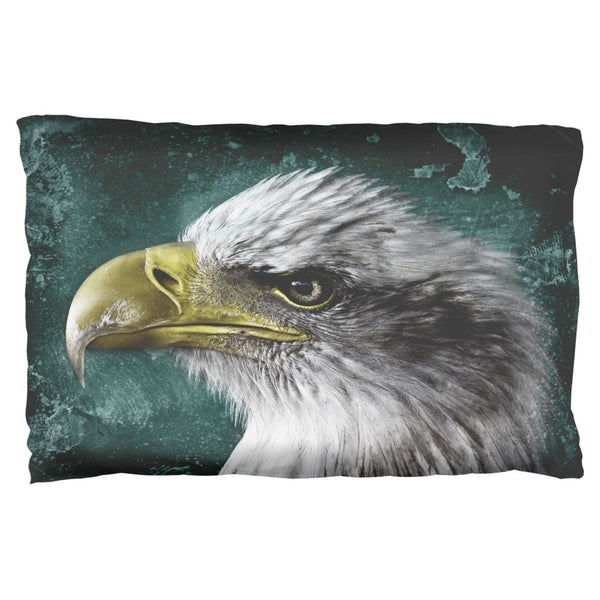 4th of July American Bald Eagle Pillow Case