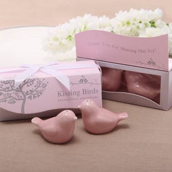 20 Pcs (10sets) Pink Love Birds Favor - SALE LAB