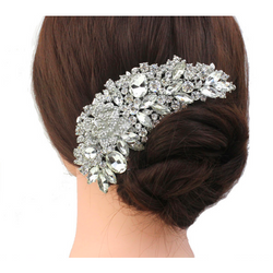 Luxurious Crystal Hair Comb - SALE LAB