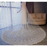 3.5 Meter Lace Cathedral  Veil - SALE LAB