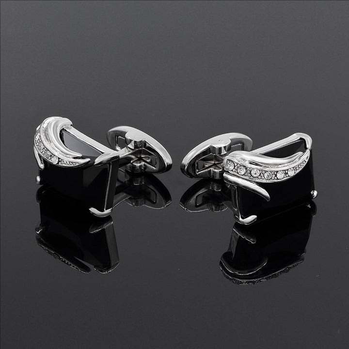 Luxury Austria Crystal CuffLinks - SALE LAB