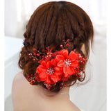 Floral Headdress - SALE LAB