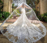 Cathedral Length Wedding Veil