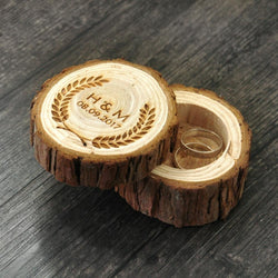 Wooden Custom Ring Box