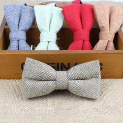 Formal Wool Cotton Bowtie - SALE LAB