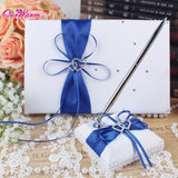 Wedding Guest Book & Pen Set - SALE LAB