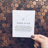 Good Luck Elephant Necklace - SALE LAB