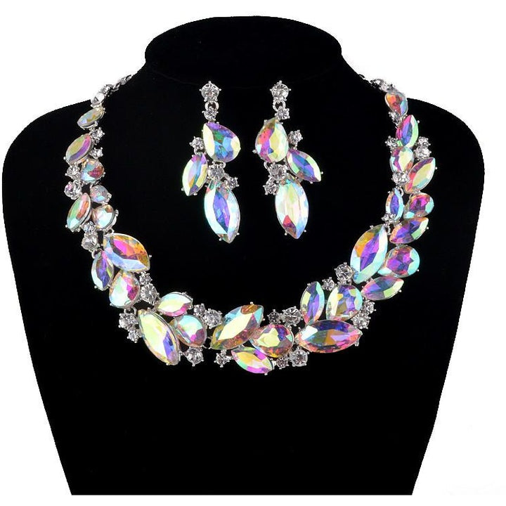 Rhinestone Necklace Set - SALE LAB