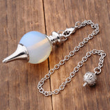 Opalite Tiger Eye Pendulum - SALE LAB