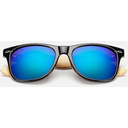 Peekaboo Bamboo Sunglasses - SALE LAB