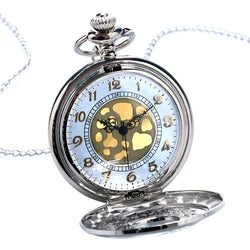 Silver Pendant Pocket Watch - SALE LAB